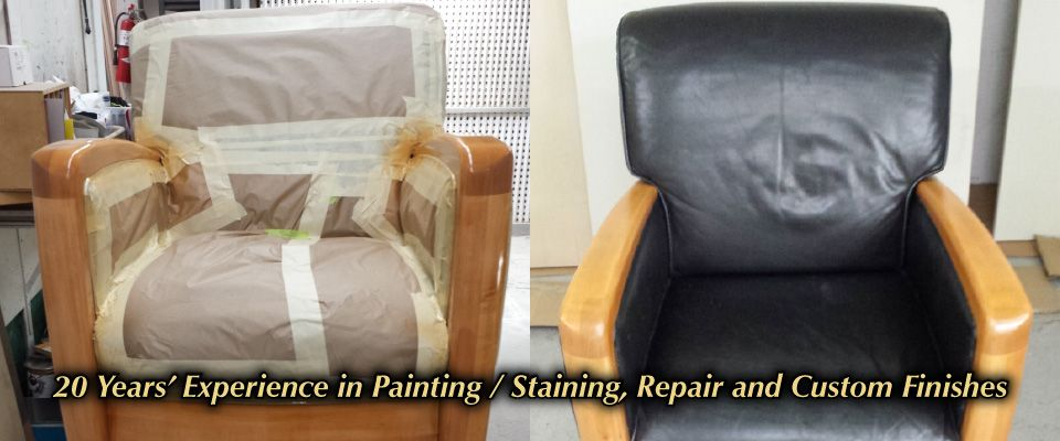 20 Years' Experience in Painting / Staining, Repair and Custom Finishes
